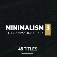 VIDEOHIDE MINIMALISM 3 – AFTER EFFECTS TEMPLATES FREE DOWNLOAD