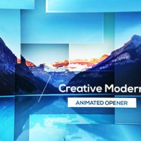 VIDEOHIDE PARALLAX MODERN OPENER – AFTER EFFECTS TEMPLATES