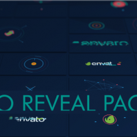 VIDEOHIVE LOGO PACK SHAPE 16 IN 1 – AFTER EFFECTS TEMPLATES