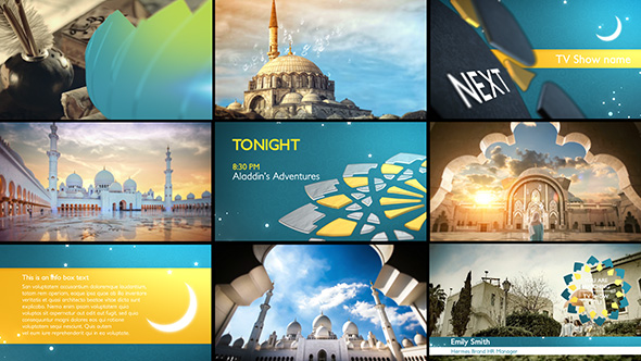 Arabia TV - Ramadan Ident Package