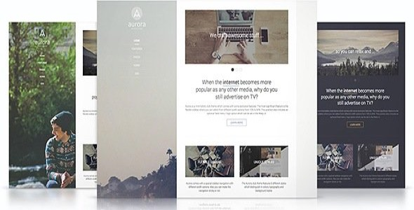 Aurora v1 0 5 responsive joomla template 3 x yootheme for Yootheme joomla templates free download
