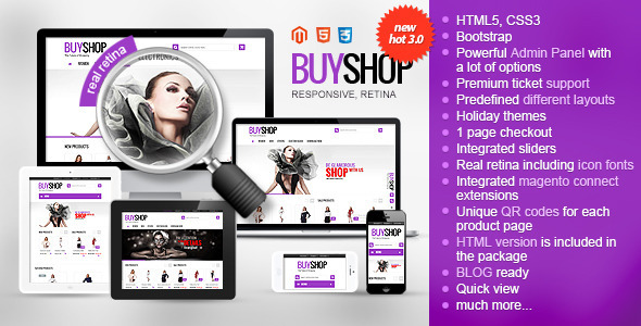 BuyShop v1.3.1 Responsive WooCommerce WordPress Theme Free Download ...