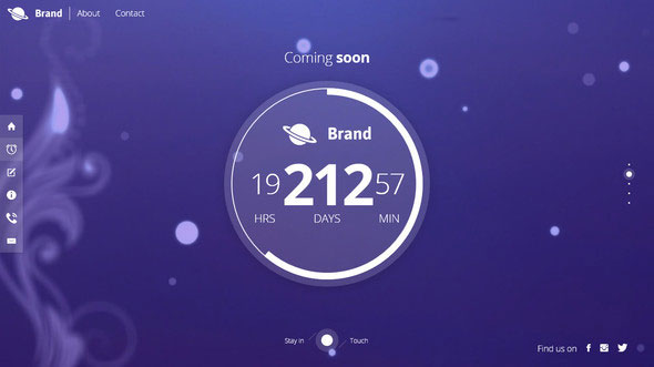 Bientot Beautiful Creative Coming Soon Template Free