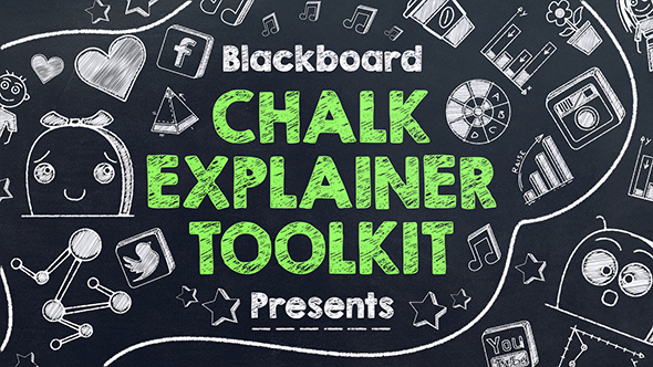 Blackboard Chalk Explainer Toolkit