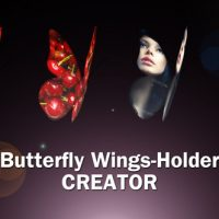 VIDEOHIVE BUTTERFLY WINGS CREATOR – AFTER EFFECTS TEMPLATE