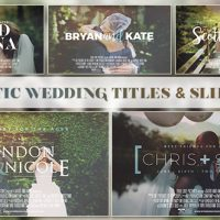 VIDEOHIVE CINEMATIC WEDDING SLIDESHOW – AFTER EFFECTS TEMPLATES