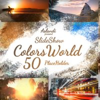 VIDEOHIVE COLORS WORLD INK SLIDESHOW – AFTER EFFECTS TEMPLATES