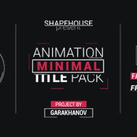 VIDEOHIVE MINIMAL TITLE PACK – AFTER EFFECTS TEMPLATES