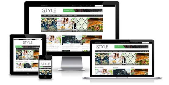 CreativeMarket-SALE-Style-Magazine-Blogger-Template-1