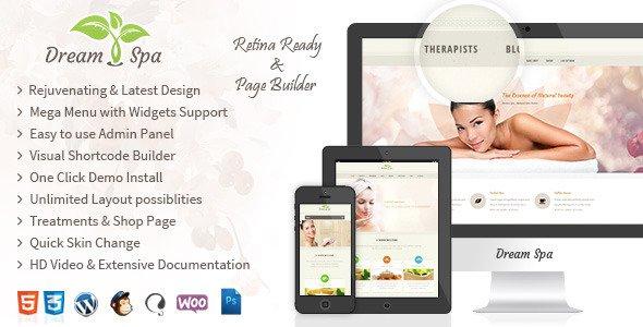 Dream Spa V1 7 2 Responsive Beauty Salon WordPress Theme Free