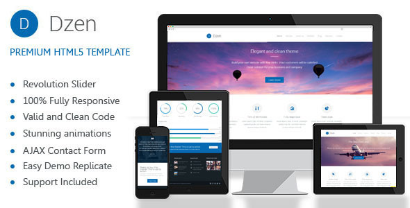 Dzen v20 multipurpose business html5 template free download free dzen v20 multipurpose business html5 template free download friedricerecipe Gallery