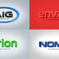 VIDEOHIVE STRONG & CLEAN CORPORATE 3D EMBOSSED LOGO FREE