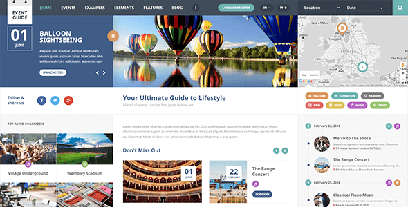 Event Guide v1.1 – Directory WordPress Theme – AitThemes Free ...