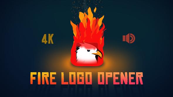 Fire Logo Opener