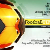 VIDEOHIVE FOOTBALL TIME PACKAGE – AFTER EFFECTS TEMPLATES