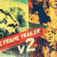 VIDEOHIVE FREEZE FRAME TRAILER V2 – AFTER EFFECTS TEMPLATES
