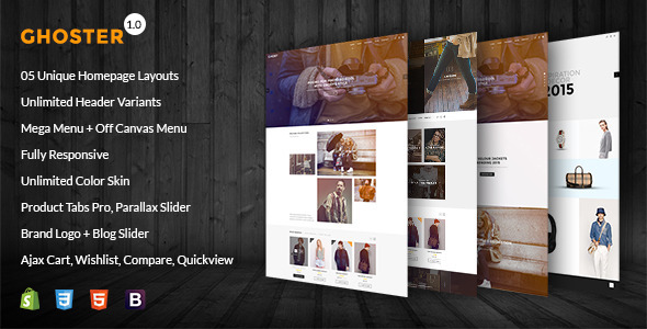 Ghoster v1 0 1 – Multipurpose Responsive Shopify Theme Free