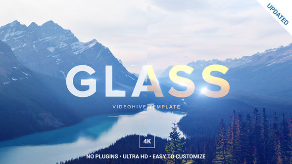 VIDEOHIVE GLASS LOGO OPENER - AFTER EFFECTS TEMPLATES - Free After ...