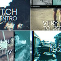 VIDEOHIVE GLITCH FILM INTRO FREE AFTER EFFECTS TEMPLATE
