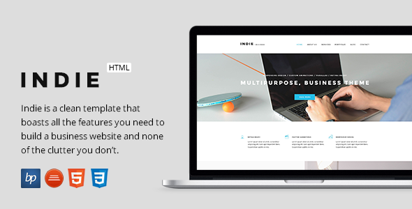 Indie responsive business html5 template free download free indie responsive business html5 template free download cheaphphosting Images