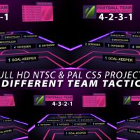 VIDEOHIVE FOOTBALL TEAM TACTICS FREE DOWNLOAD TEMPLATE