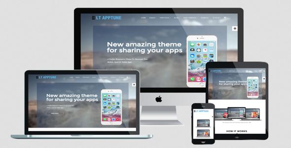 Apptune Pro v1 0 – Responsive Mobile Apps Joomla LTheme Free