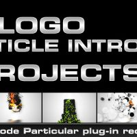 VIDEOHIVE LOGO PARTICLE INTRO (8IN1) FREE AFTER EFFECTS TEMPLATE