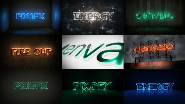 Multi Light Kit - Fire Light Neon Energy Composer