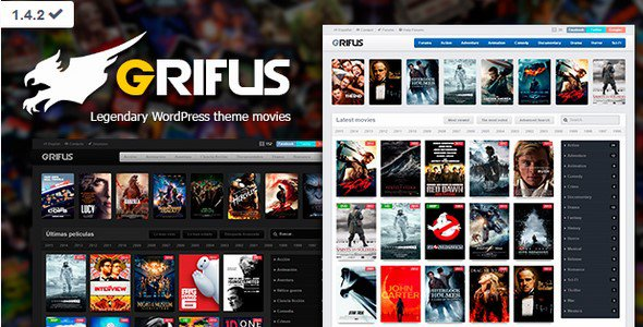 Grifus v1 4 2 Nulled WordPress theme movies Free Download - Free