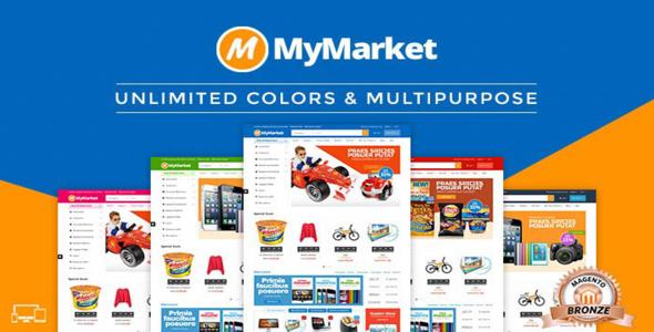 MyMarket – Supermarket Magento Theme – CreativeMarket 314648 Free ...