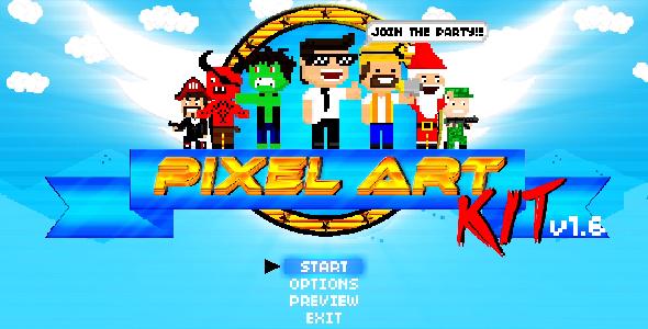 Pixel Art Kit V1.6