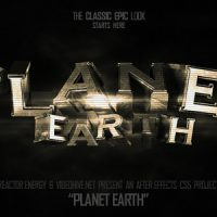 VIDEOHIVE PLANET EARTH – AFTER EFFECTS TEMPLATES