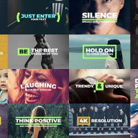 VIDEOHIVE FRESH TITLES – AUTO-RESIZING ANIMATED TYPOGRAPHY TEXT PACK – AFTER EFFECTS TEMPLATE