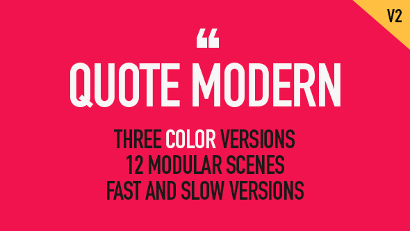 Quote Modern