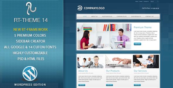 RT-Theme 14 v1.7.1 Premium WordPress Theme Free Download - Free ...