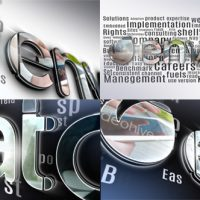 VIDEOHIVE SIMPLE 3D LOGO – AFTER EFFECTS TEMPLATES