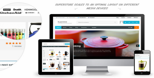 SuperStore v1 2 6 – WordPress Theme – Woothemes Free