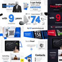 VIDEOHIVE THEWAY – PORTFOLIO & RESUME – AFTER EFFECTS TEMPLATE
