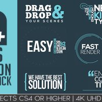 VIDEOHIVE TITLES ANIMATION GRAPHIC PACK – AFTER EFFECTS TEMPLATES