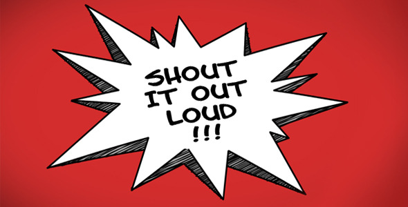 Videohive Cartoon Speech Bubbles After Effects Templates