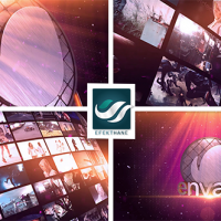 VIDEOHIVE VIDEO WALL LOGO – AFTER EFFECTS TEMPLATE