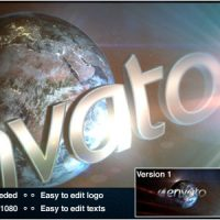 VIDEOHIVE WORLD LOGO – AFTER EFFECTS TEMPLATES