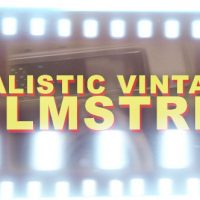 REALISTIC VINTAGE FILMSTRIP – HORIZONTAL – MOTION GRAPHIC (VIDEOHIVE)