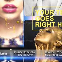 VIDEOHIVE FAST PHOTO AND VIDEO SHOTS – AFTER EFFECTS TEMPLATES