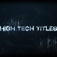 VIDEOHIVE HIGH TECH TITLES & LOGO – AFTER EFFECTS TEMPLATES