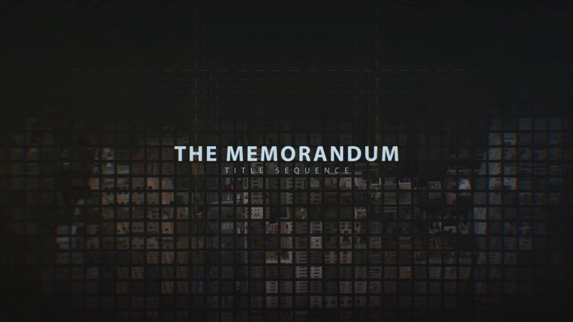 the memorandum cinematic title sequence after effects project rocketstock free after. Black Bedroom Furniture Sets. Home Design Ideas