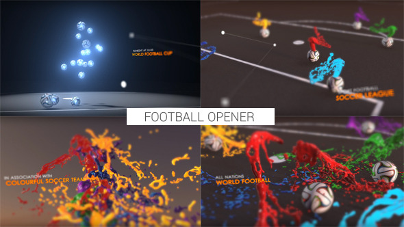VIDEOHIVE COLOURFUL FOOTBALL OPENER - AFTER EFFECTS TEMPLATES - Free ...