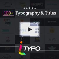 VIDEOHIVE ITYPO | TYPOGRAPHY & TITLE ANIMATIONS FREE DOWNLOAD