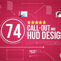 74 CALL-OUT AND HUD DESIGN PACK – VIDEOHIVE FREE DOWNLOAD