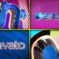 VIDEOHIVE ARCADE LIGHTS LOGO FREE AFTER EFFECTS TEMPLATE